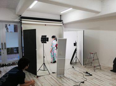 劇団のフライヤー撮影、旗揚げ公演は来年初頭!!劇団おおぐち
