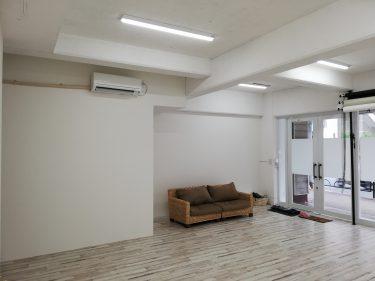 日本一新しい白壁撮影スタジオ