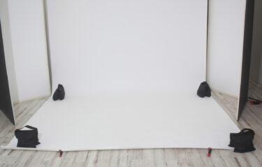 撮影スタジオのサンドバッグ